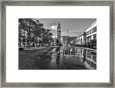 Albert Memorial Clock Framed Print