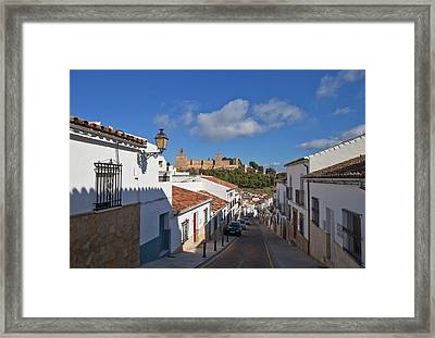 Alcazaba Castle In Antequera, Malaga Framed Print by Panoramic Images