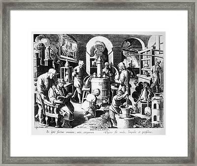 Alchemy: Laboratory Framed Print