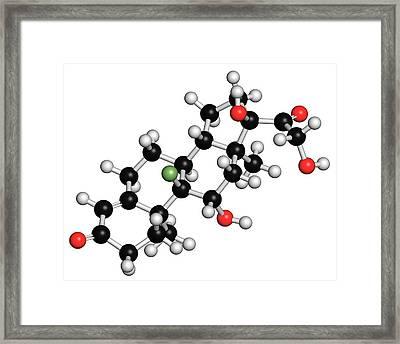 Aldosterone Hormone Substitution Drug Framed Print