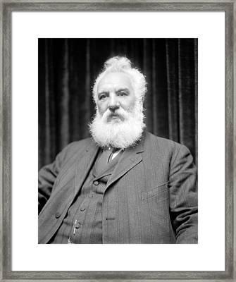 Alexander G. Bell, Scottish-us Inventor Framed Print