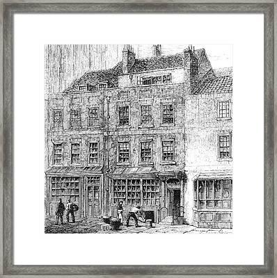 Alexander Pope  English Poet's Home Framed Print