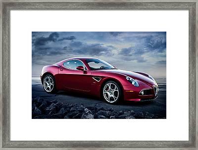 Alfa Romeo 8c Framed Print by Douglas Pittman
