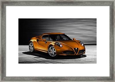 Alfa Romeo Framed Print by Marvin Blaine