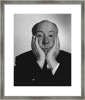 Alfred Hitchcock Framed Print