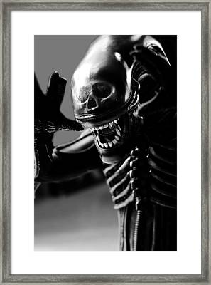 Alien Is Disoriented Framed Print
