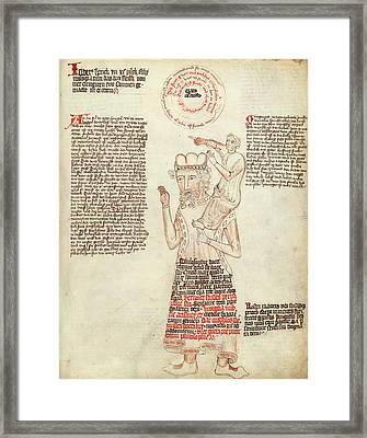 Allegorical Medicine Framed Print