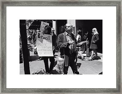 Allen Ginsberg Framed Print
