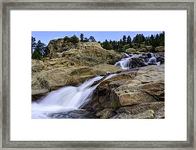 Alluvial Fan Framed Print by Tom Wilbert