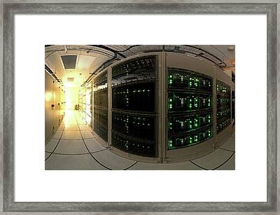 Alma Correlator Supercomputer Framed Print