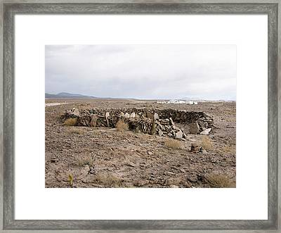 Alma Site Framed Print by European Southern Observatory