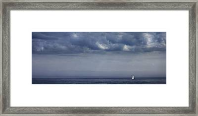 Alone Framed Print by Don Powers