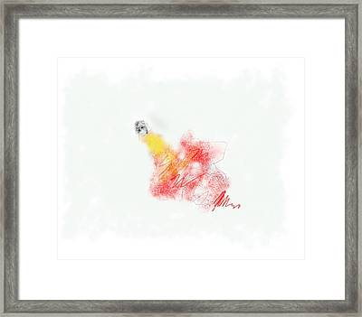 Alone Framed Print by Rc Rcd