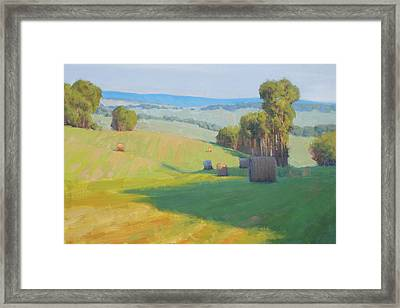 Along Rectortown Road Framed Print