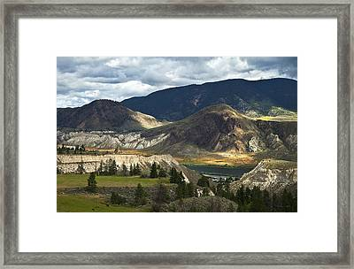 Along The River  Framed Print by Theresa Tahara