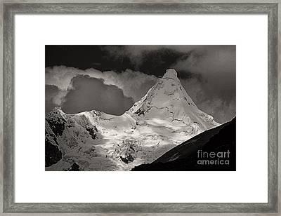 Alpamayo Peru Framed Print