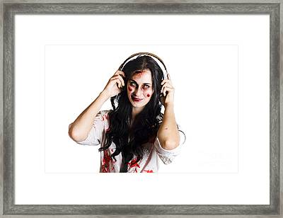 Alternative Music Concept Framed Print by Jorgo Photography - Wall Art Gallery
