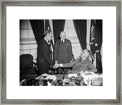 Ambassador Kennedy Framed Print