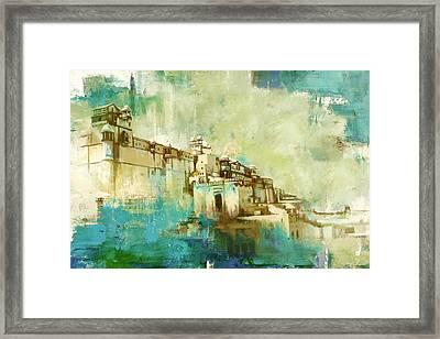 Amber Fort Framed Print