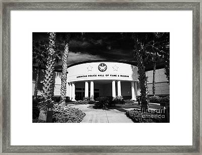 american police hall of fame and museum Florida USA Framed Print by Joe Fox