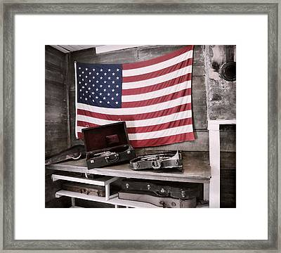 American Tradition Framed Print by JAMART Photography