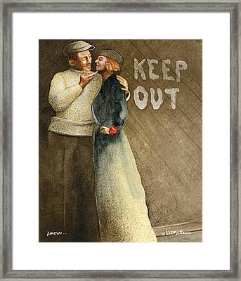 Amour... Framed Print by Will Bullas