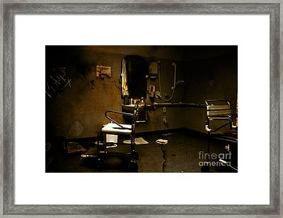 Amputation House Framed Print by Jorgo Photography - Wall Art Gallery