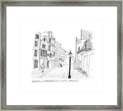 Amsterdam Framed Print by Steven Tomadakis