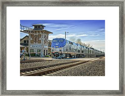Amtrak 112 Framed Print