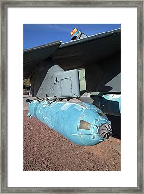 An Anti-tank Cluster Bomb Framed Print by Jim West