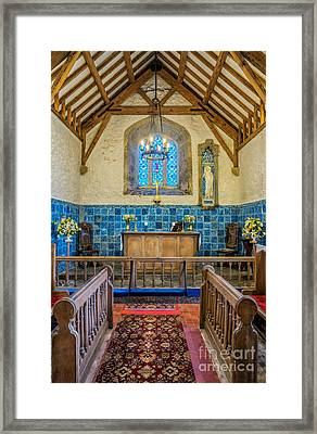 Ancient Chapel Framed Print by Adrian Evans