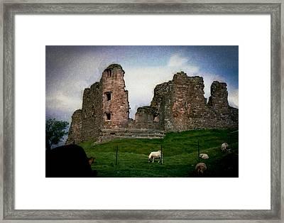 Ancient History Framed Print by Daniel  Gundlach