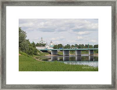 Ancient Town Framed Print