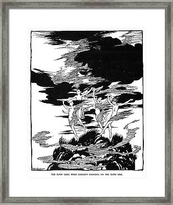 Andersen Elfin Hill Framed Print by Granger