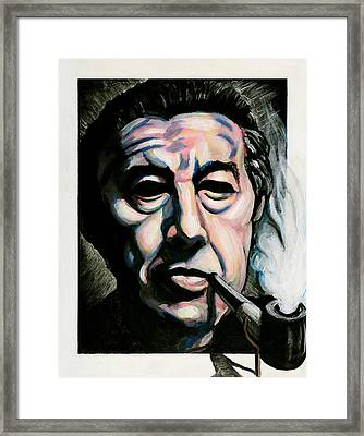Andre Breton Framed Print by Adam B Cook