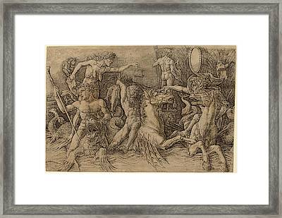 Andrea Mantegna Italian, C. 1431 - 1506 Framed Print by Quint Lox