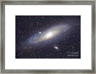 Andromeda Galaxy Framed Print by Chris Cook