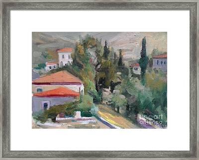 Andros Framed Print