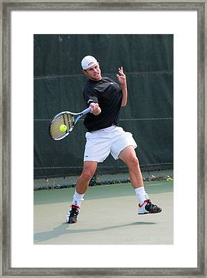 Andy Roddick  Framed Print by James Marvin Phelps