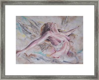 Angel Burst Framed Print