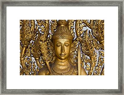 Angel Framed Print by Tosporn Preede