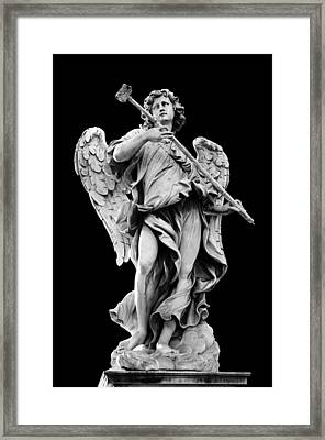 Angel With The Sponge  Framed Print