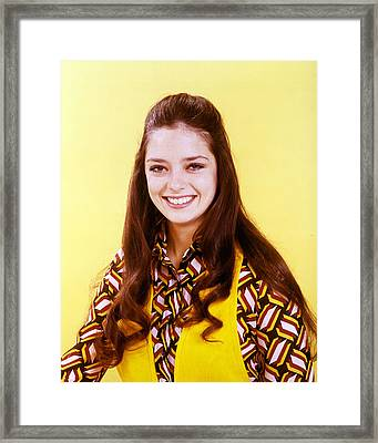 Angela Cartwright In Lost In Space  Framed Print