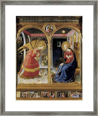Angelico, Fra 1387-1455. The Framed Print