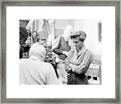 Angie Dickinson In Jessica  Framed Print by Silver Screen