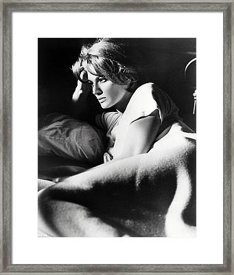 Angie Dickinson In Point Blank  Framed Print by Silver Screen