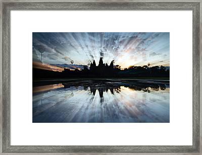 Angkor Wat Framed Print by Brad Grove