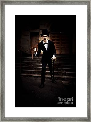 Angry Man Framed Print by Jorgo Photography - Wall Art Gallery