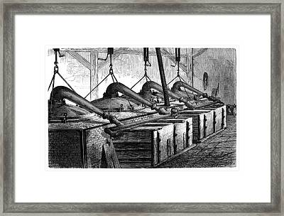 Aniline Dyeing Industry Framed Print