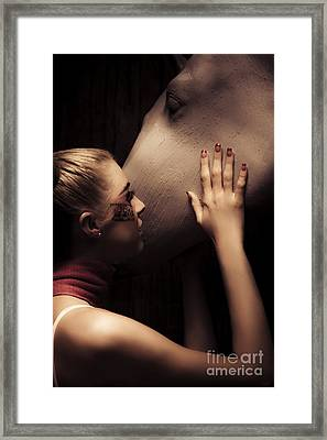 Animal Love Framed Print